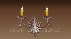 mediterranean_iron_wall sconce_rizzo