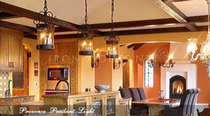 wrought iron indoor pendant light fixtures