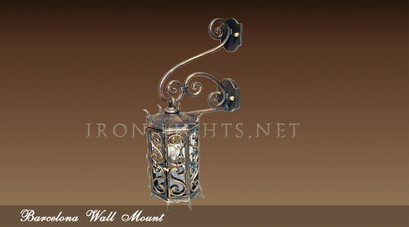 Spanish revival outdoor lighting