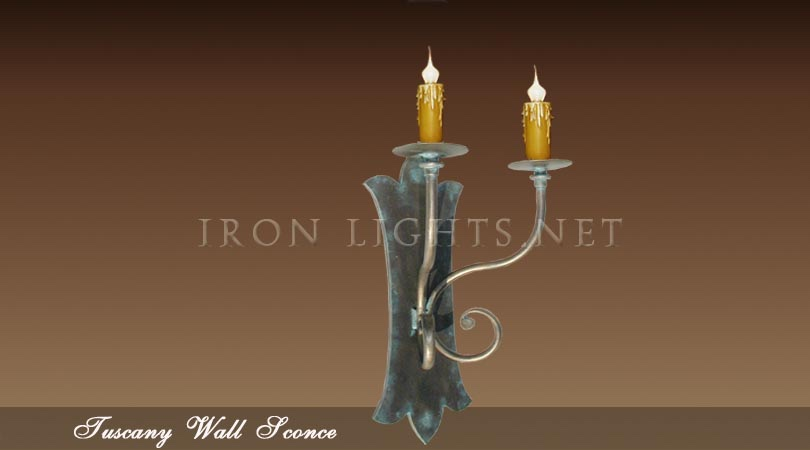Tuscany indoor wall sconce