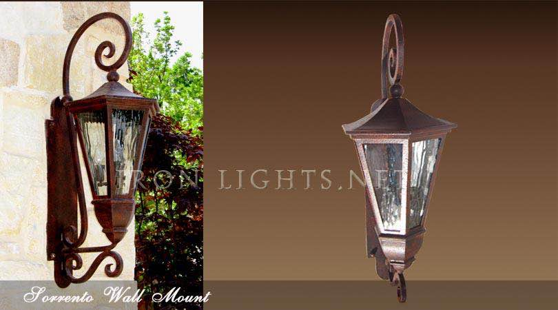 Sorrento wall sconce