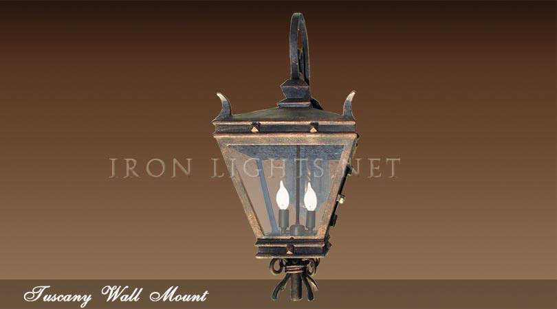Tuscany Mediterranean lighting