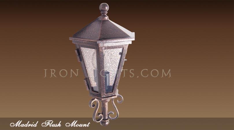 Madrid flush mount light