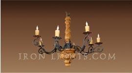 andalucia_wood_iron_chandelier