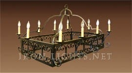 alicante_kitchen_iron_chandelier