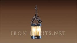 provence_iron_pendant_light