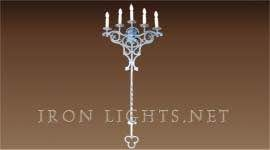 gothic_5_lights_sconce