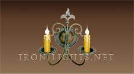 wrought_iron_wall sconces_monterey