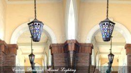 wrought iron pendant lights