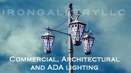 Commercial iron lighting