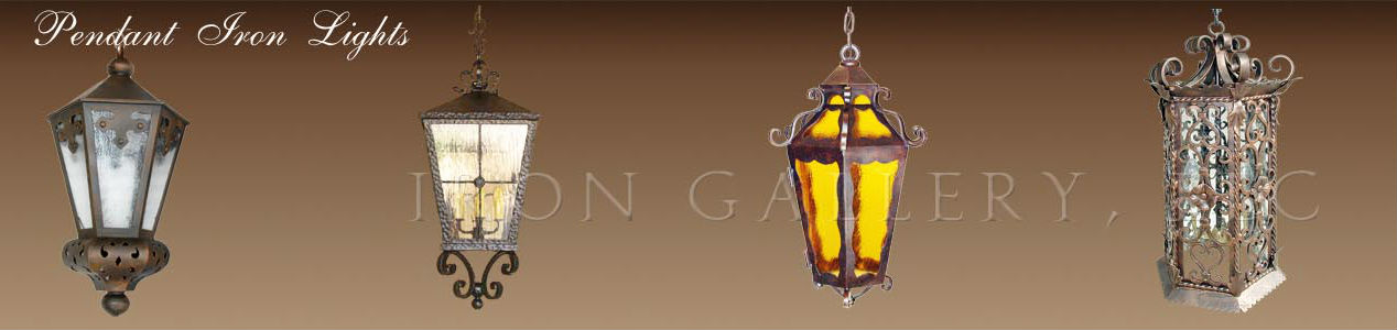 Exclusive Wrought Iron Pendant Lights By Ironlights Net