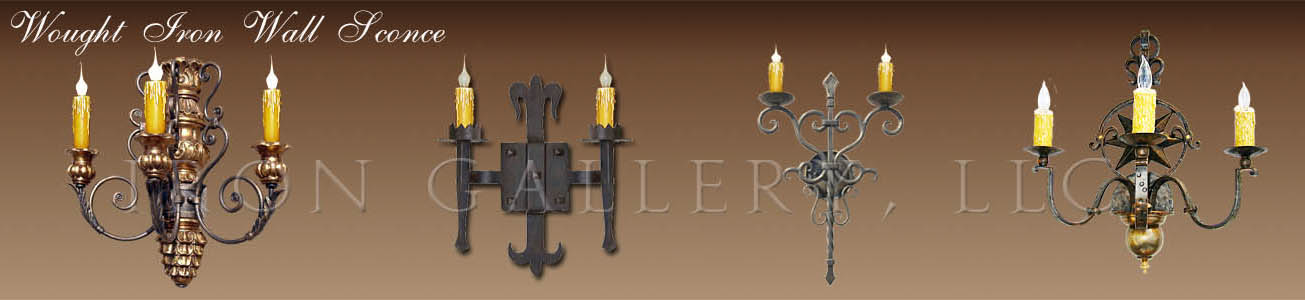 ... Wrought Iron Wall Sconces. Wrought_iron_wall_sconces