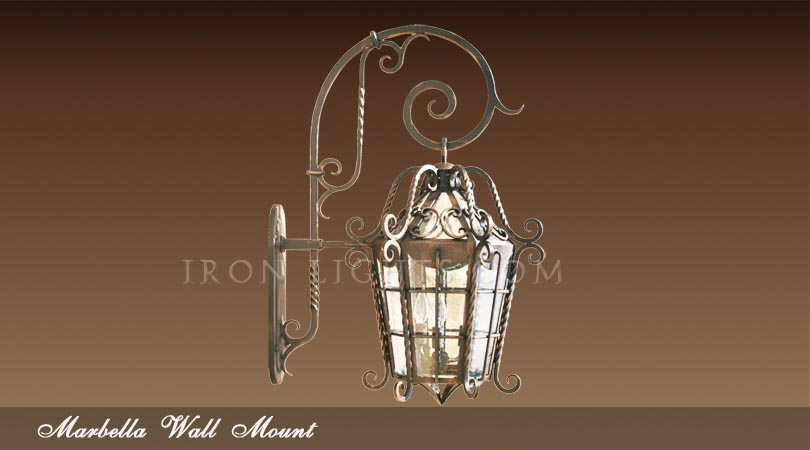Outdoor Lighting Spanish Revival Light Fixtures Wall