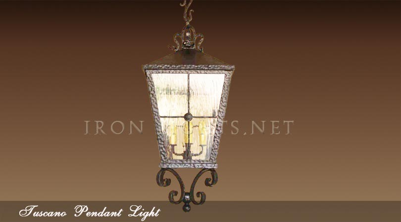 Tuscano pendant light
