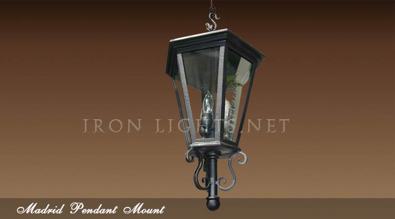 Madrid outdoor pendant light