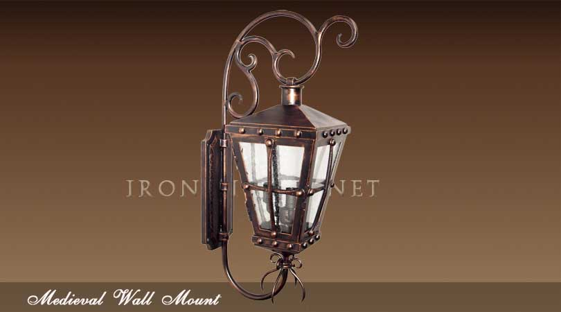 Medieval outdoor lights