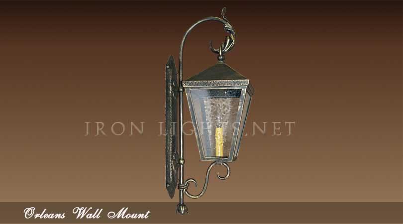 Wrought iron lights
