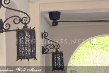 Spanish revival lighting