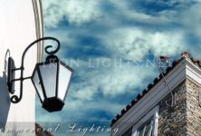 Architectural iron lighting