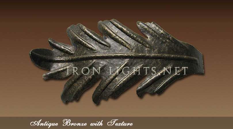 Old world antique bronze finish