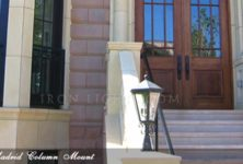 Madrid wrought iron outdoor lighting