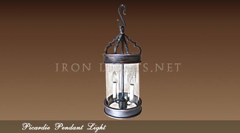 Picardie Iron Pendant light