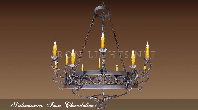 Hacienda style chandeliers