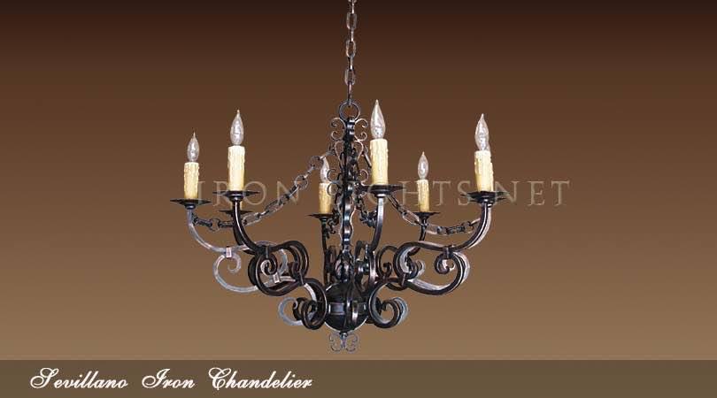 Sevillano Hacianda chandeliers