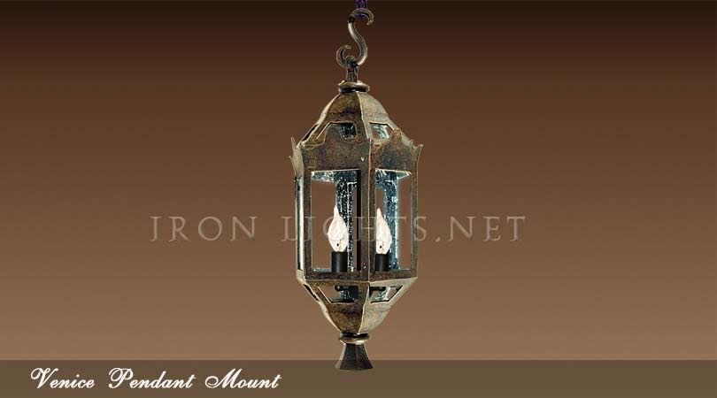 Venice outdoor pendant